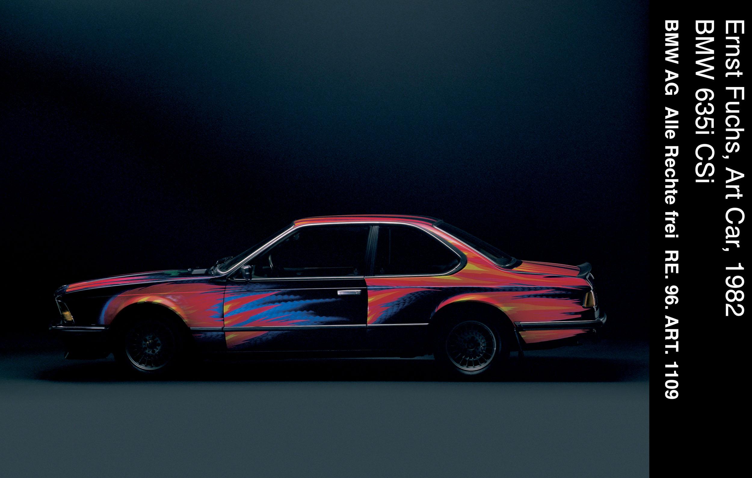 BMW 635 CSi Art Car # 5