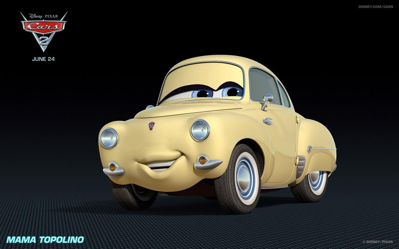 Cars 2 Characters: Mama Topolino