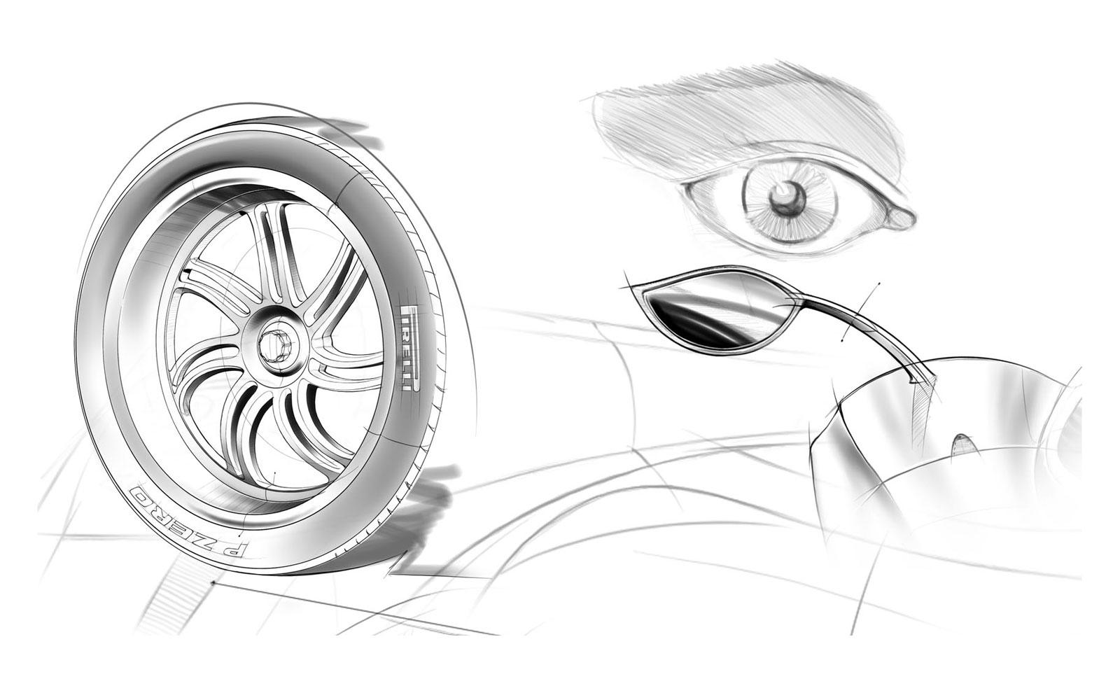 BMW 428I Coupe >> Pagani's HUAYRA Sketches!
