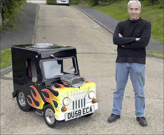 Маленькая машина своими руками