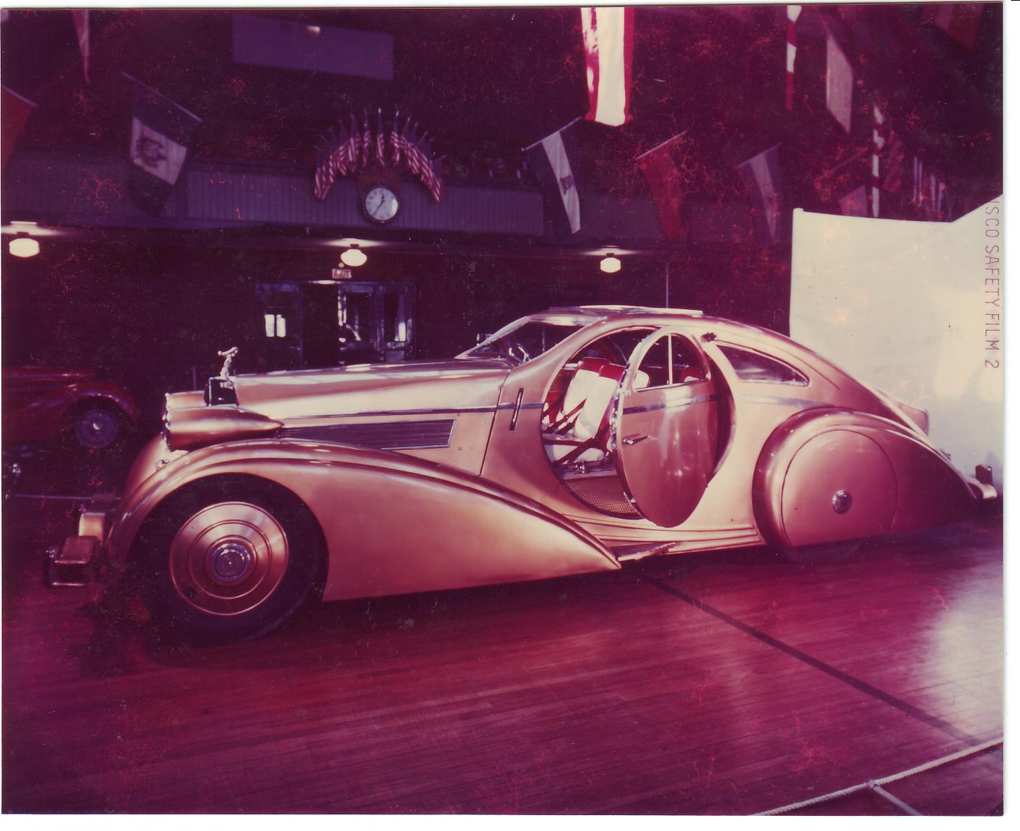 1925 rolls royce phantom i jonckheere aerodynamic coupe for 1925 rolls royce round door