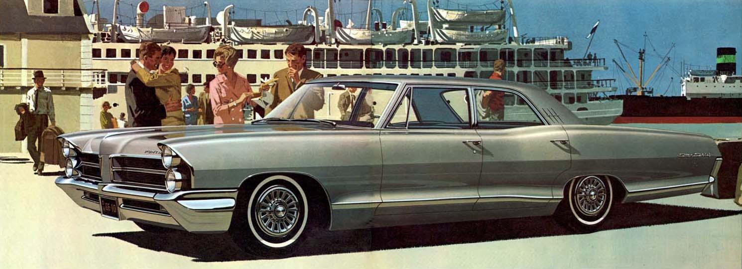 Art Fitzpatrick And Van Kaufman Af Vk Jet Age Glamour Blog 1960 Pontiac Star Chief 1965 4 Door Sedan
