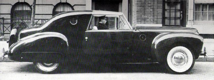 Lincoln Continental 1941 Raymond Loewy Blog
