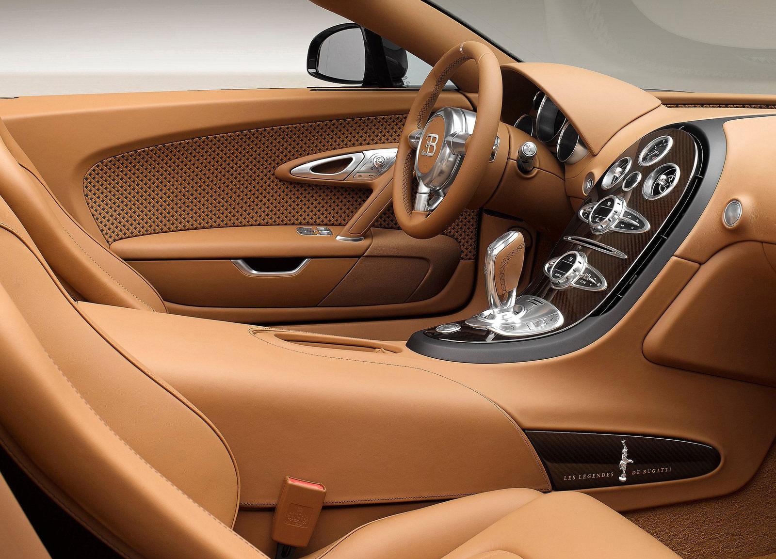 Bugatti 2018 veyron hyper sport interior