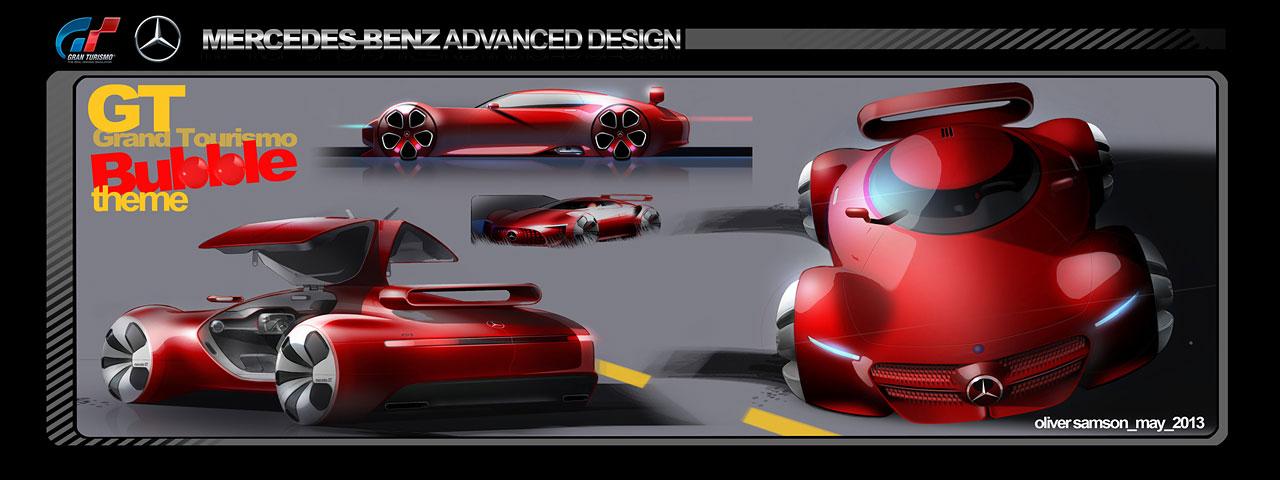 Mercedes Benz Amg Vision Gran Turismo Concept 2013 Blog