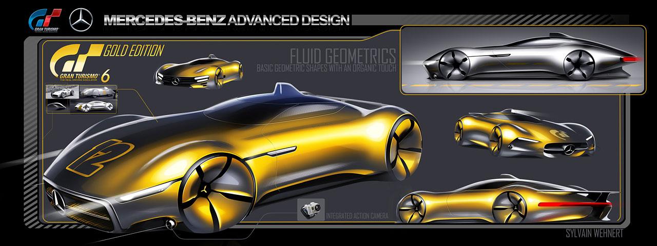 Mercedes-Benz AMG Vision Gran Turismo Concept (2013) - Blog