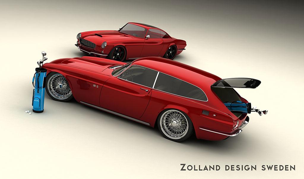 Volvo P1800 Zes By Bo Zolland 2013 Sportstourer Блог
