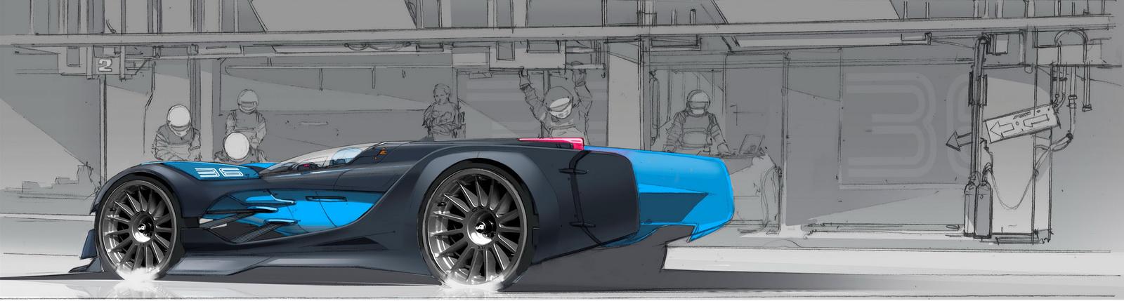 Alpine Vision Gran Turismo 2015 Blog