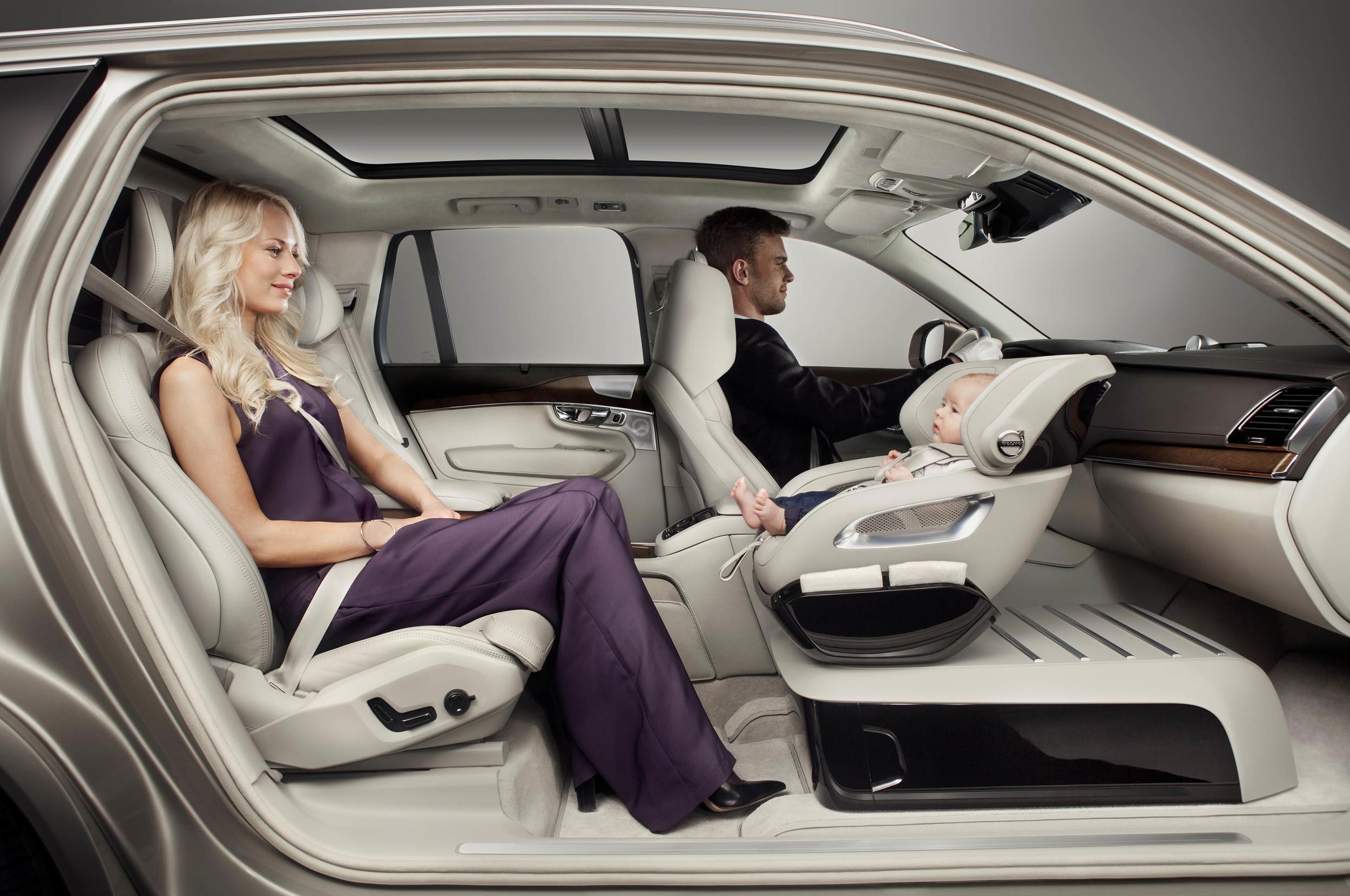 Volvo XC90 Excellence Child Seat (2015): Interior Concept - Blog
