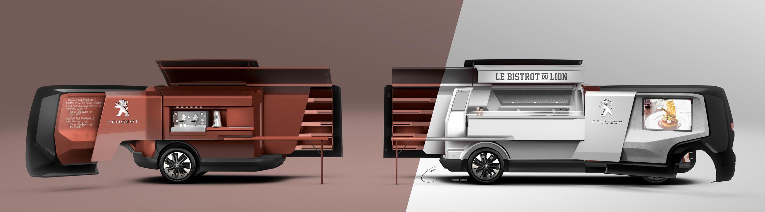 peugeot foodtruck concept 2015 le bistrot du lion blog. Black Bedroom Furniture Sets. Home Design Ideas