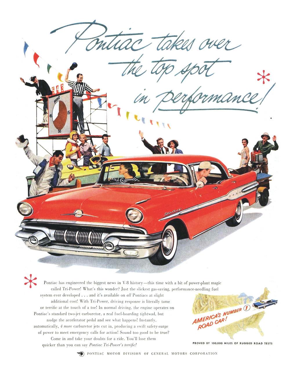 Pontiac Advertising Campaign 1957 America S Number 1