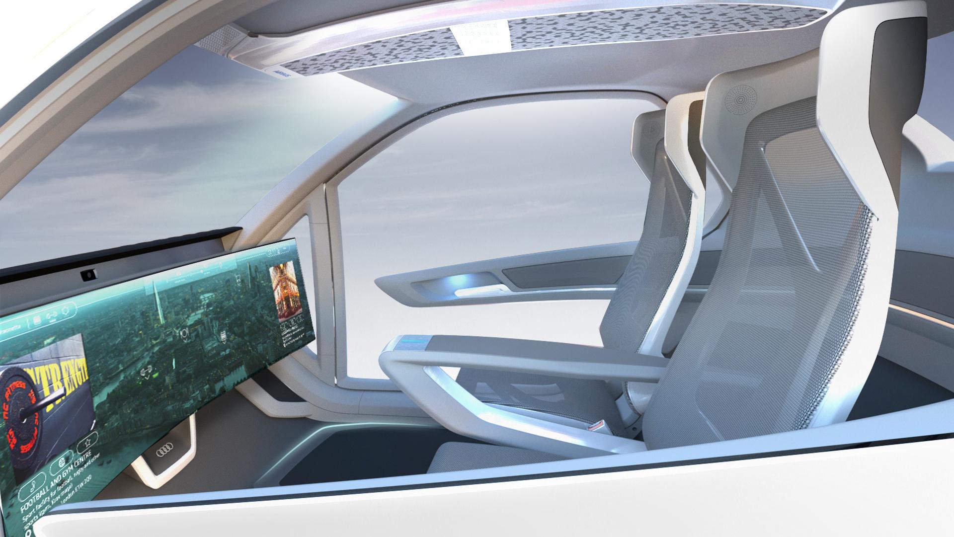 Audi Airbus Italdesign Pop Up Next 2018 Flying Car Concept Blog