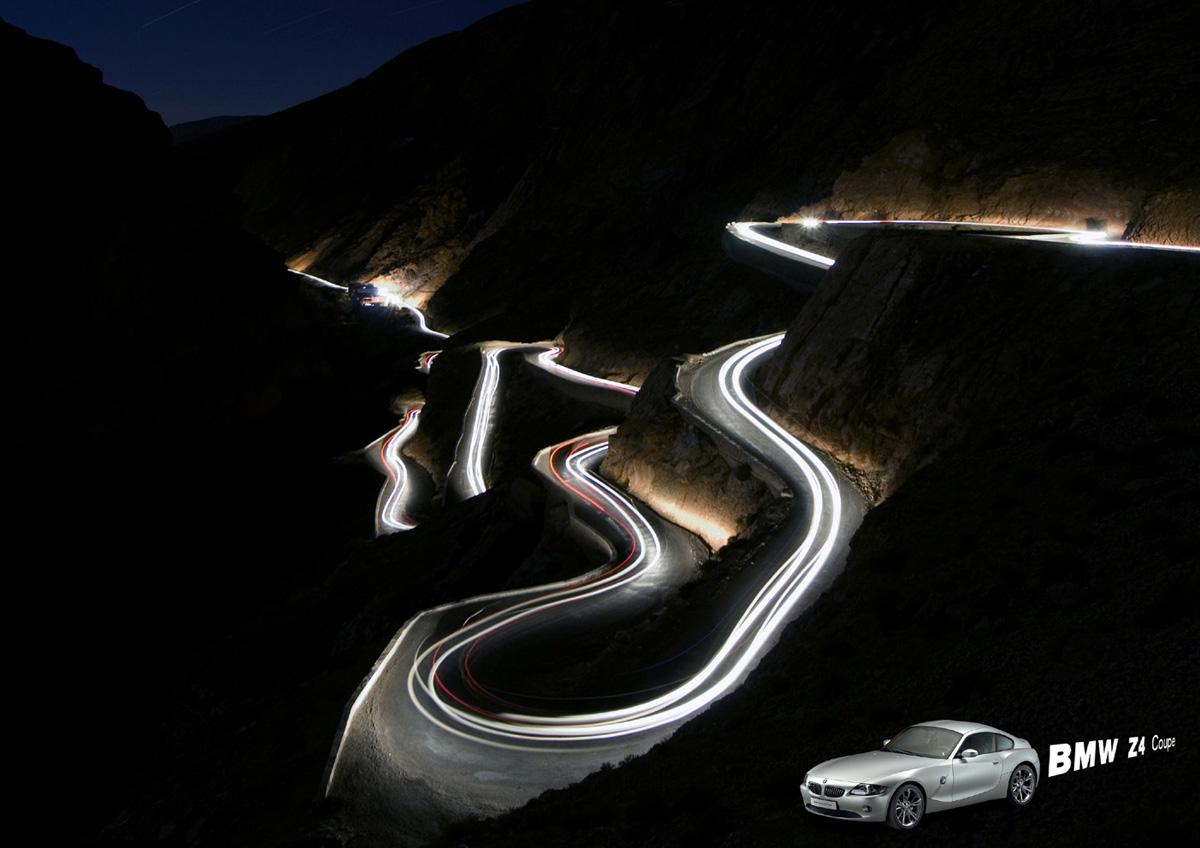 Bmw Z4 Coupe 2007 Light Blog
