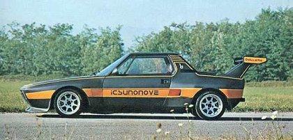 1975 Fiat X1 9 Dallara Bertone Ateliers
