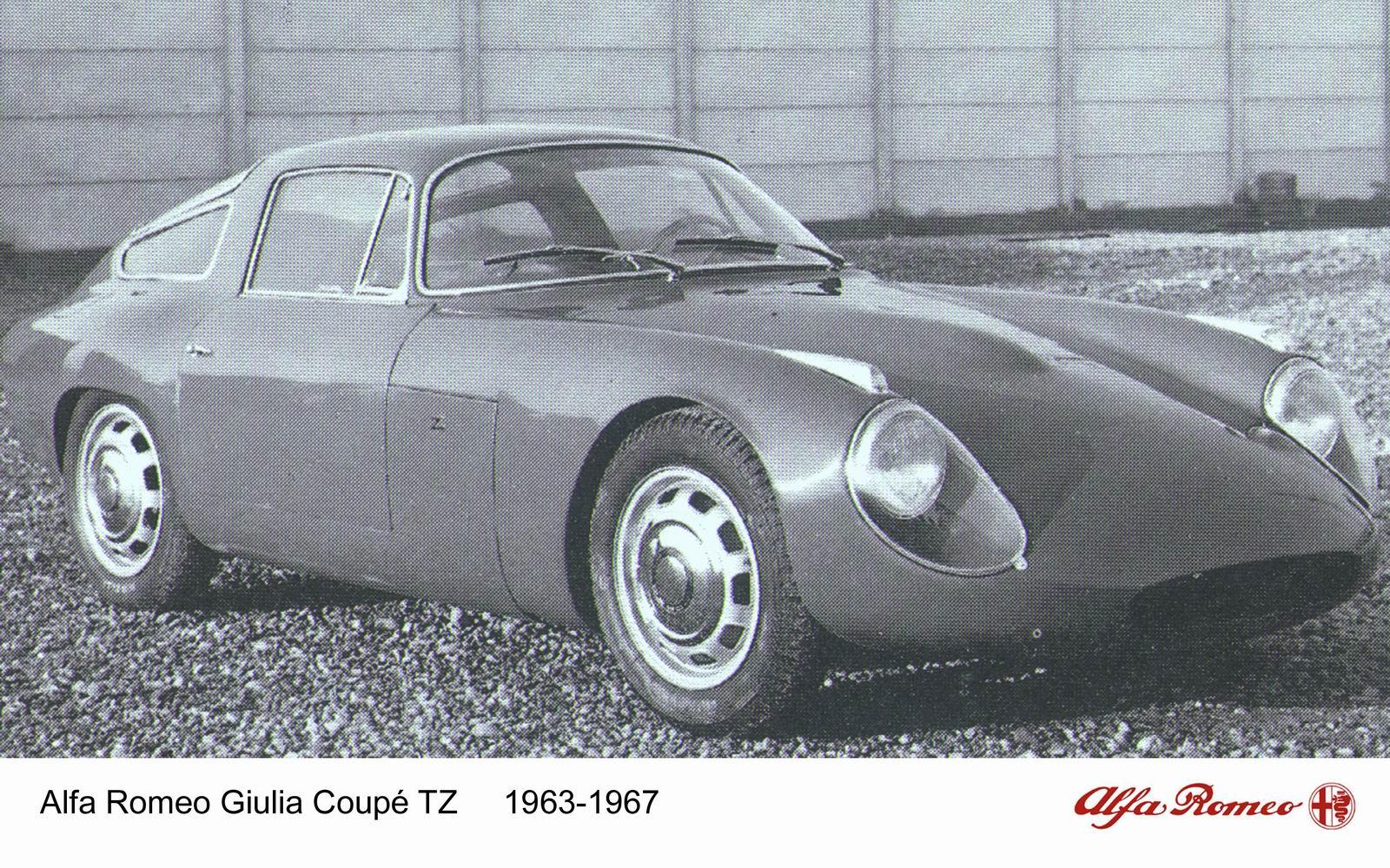 1963 Alfa Romeo Giulia TZ1 (Zagato) - Studios