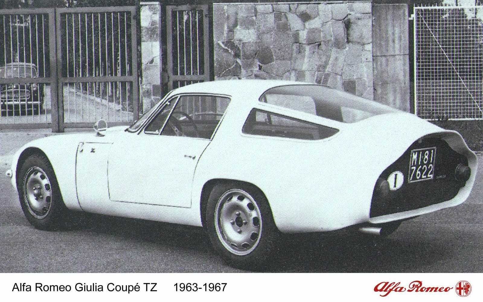 Alfa Romeo Giulia TZ (Zagato),