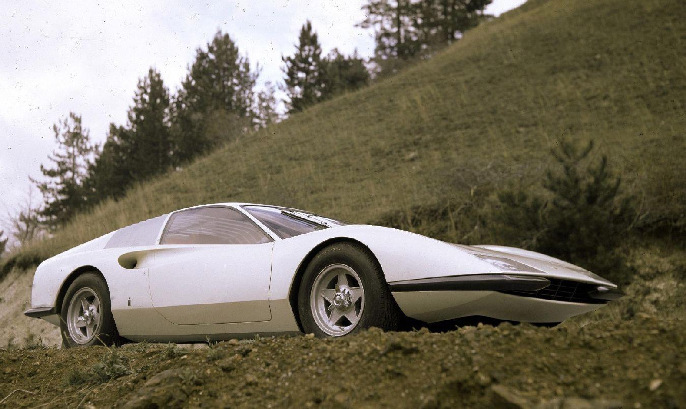 1968 Ferrari P6 Pininfarina Studios