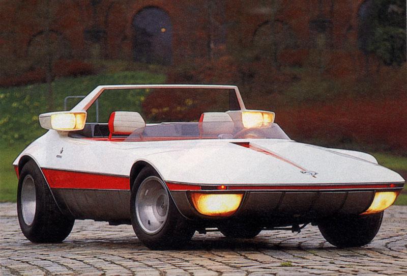 Fiat X1 9 >> 1969 Autobianchi Runabout (Bertone) - Studios