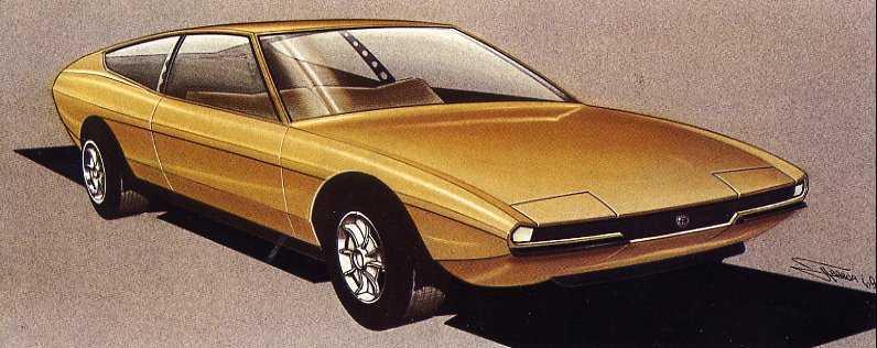 Lancia Fulvia Concept. Lancia Fulvia 1600