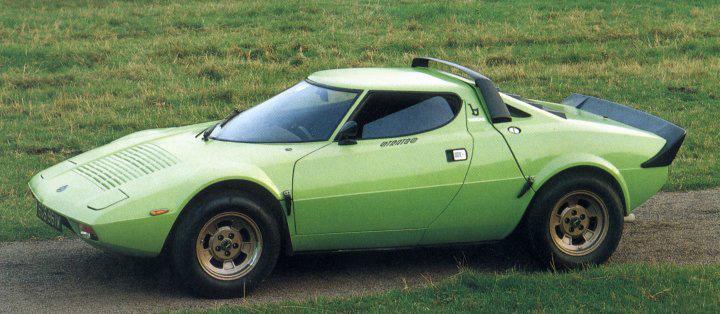 1971 Lancia Stratos HF (Bertone) - Studios