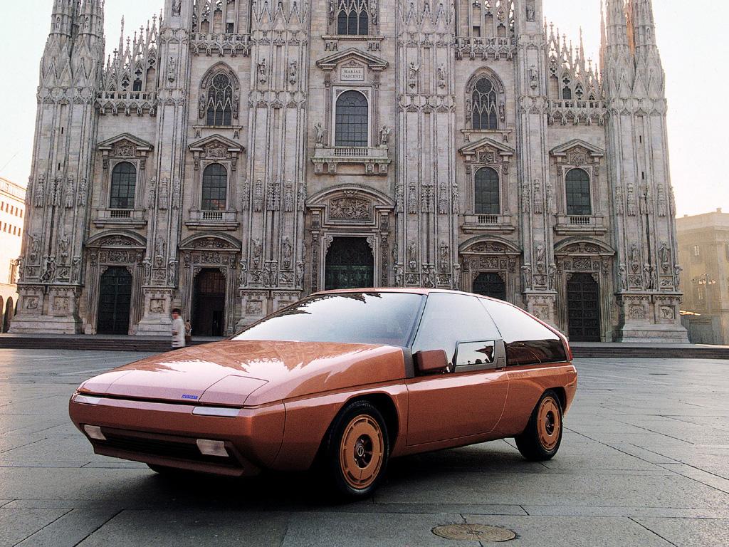 1981 Mazda MX-81 Aria (Bertone) - Студии