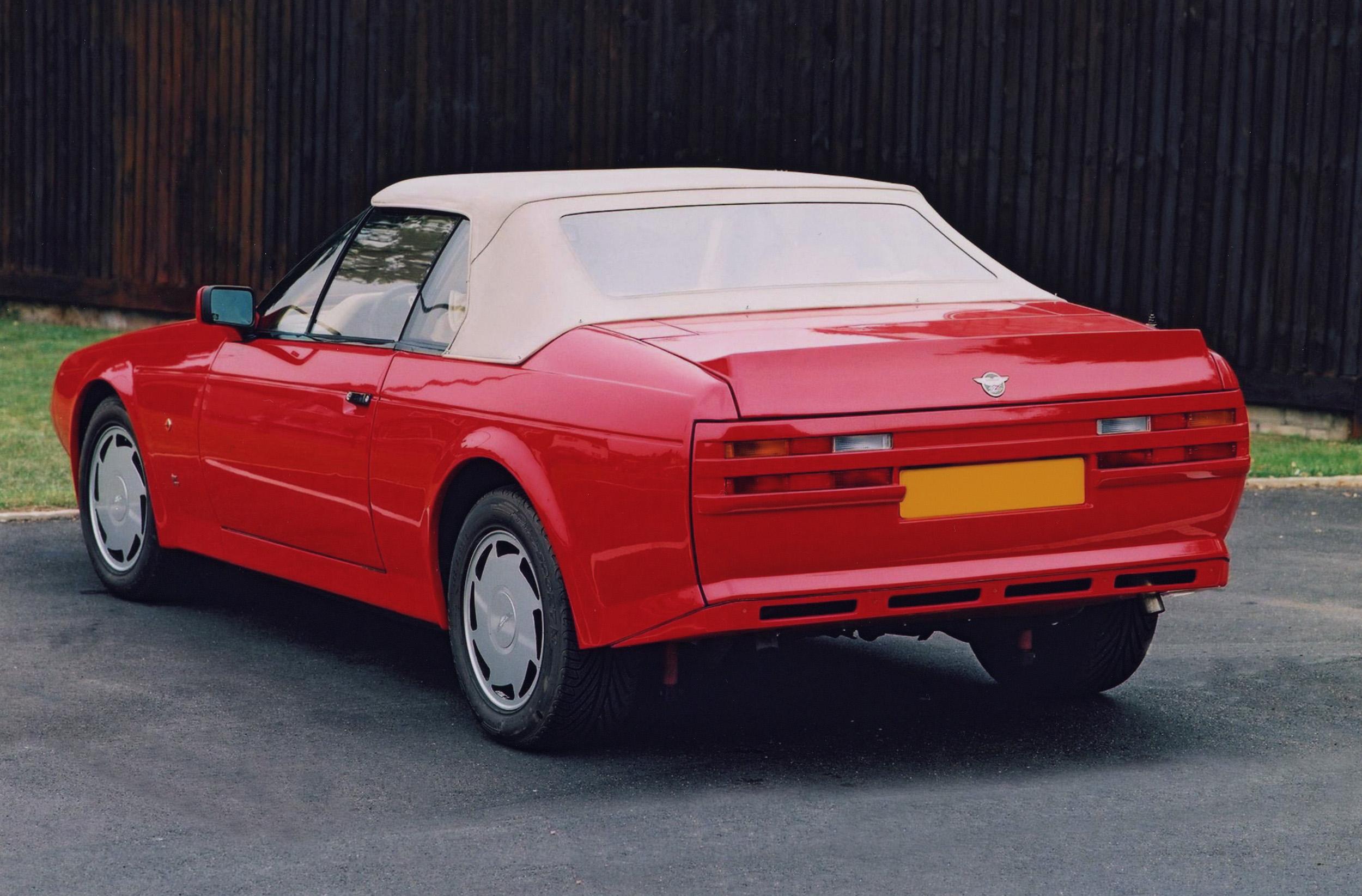 Aston Martin Vantage Zagato Studios - 1986 aston martin vantage