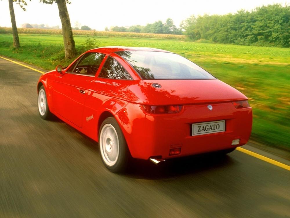 rot 1992 Lancia Hyena Zagato