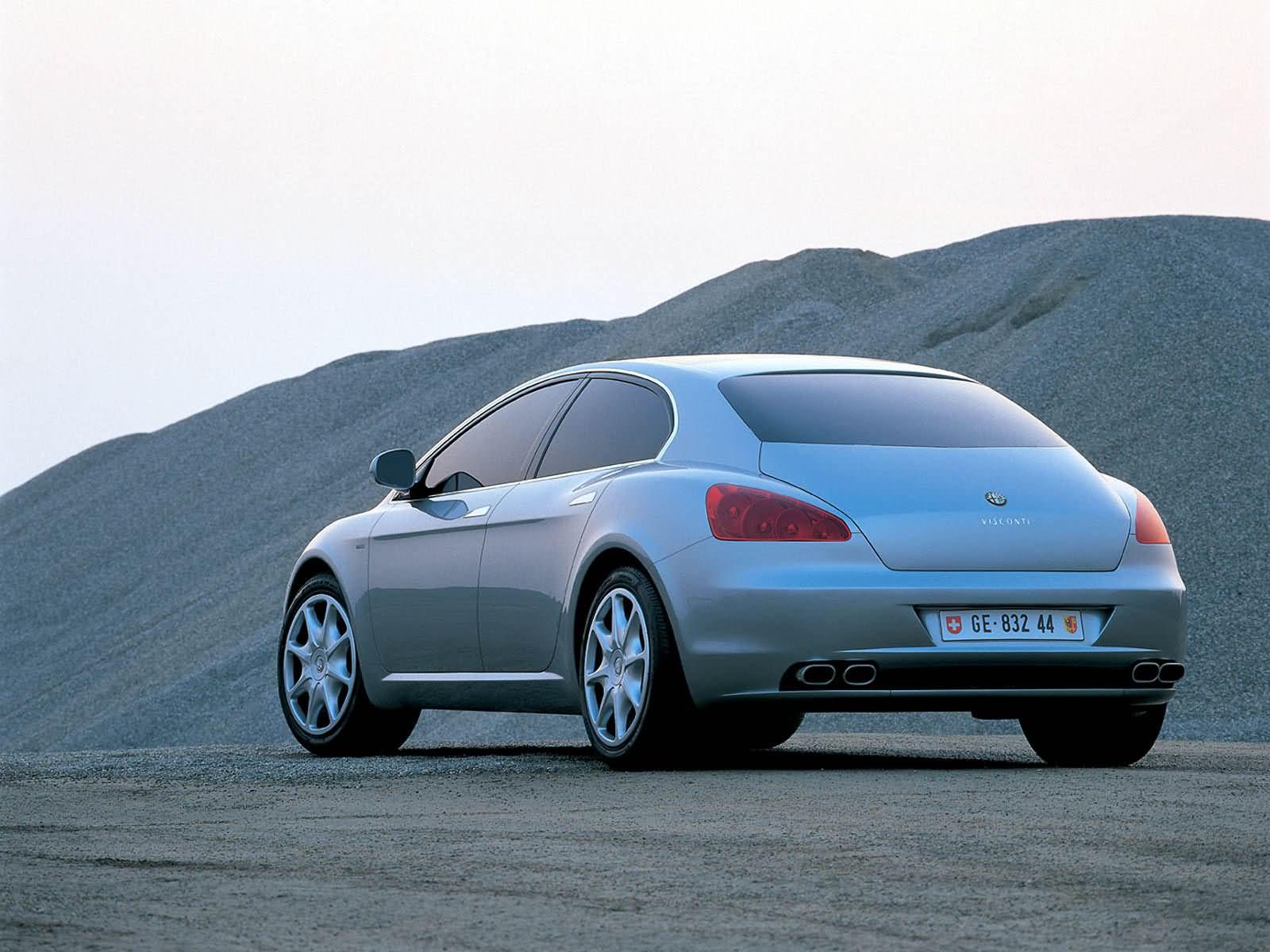 2004 Alfa Romeo Visconti (ItalDesign) - Studios