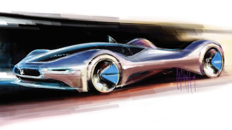 2005 Maserati Birdcage 75th (Pininfarina) - Studios
