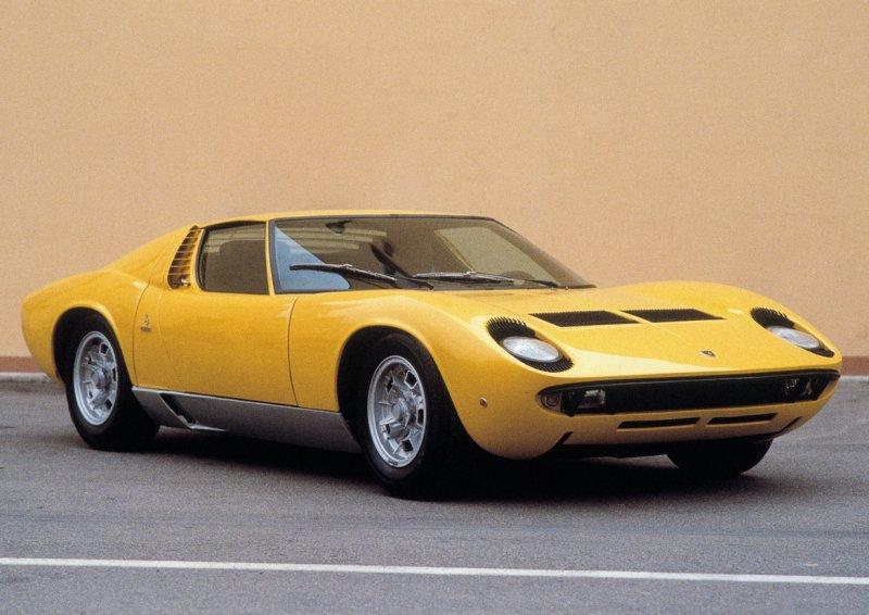 Design Cars Wallpaper Lamborghini Miura History