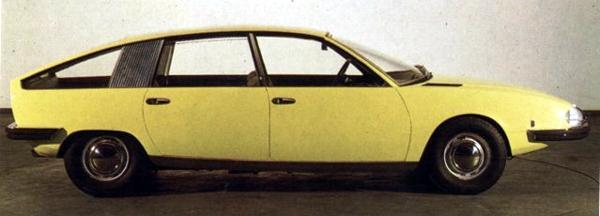 1976 Lancia Gamma Berlina