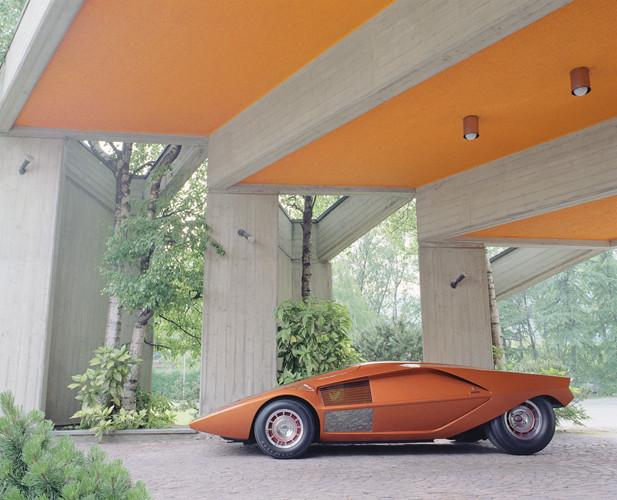1970 lancia stratos zero bertone studios. Black Bedroom Furniture Sets. Home Design Ideas