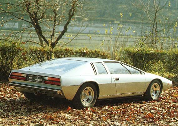 1972 Lotus Esprit Italdesign Studios