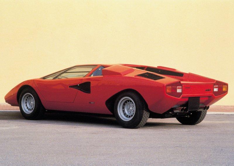 1971 Lamborghini Countach Bertone Studios