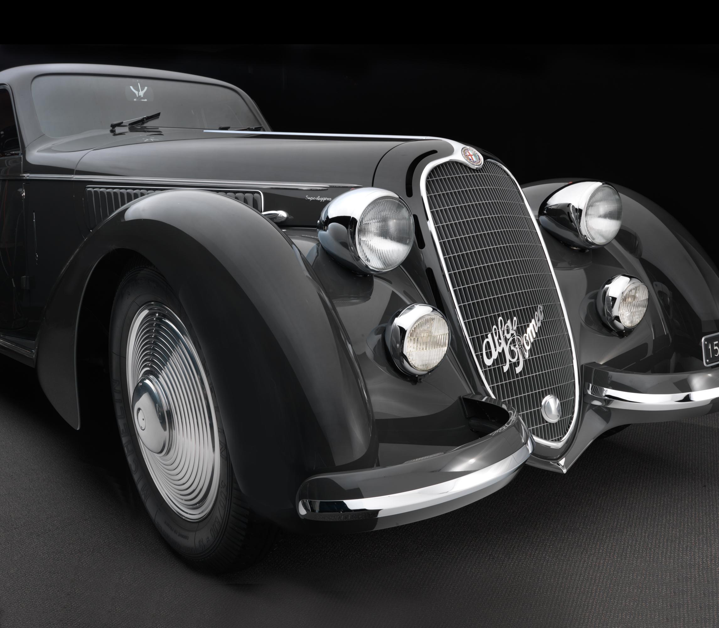1937 Alfa Romeo 8C 2900 B Berlinetta (Touring)