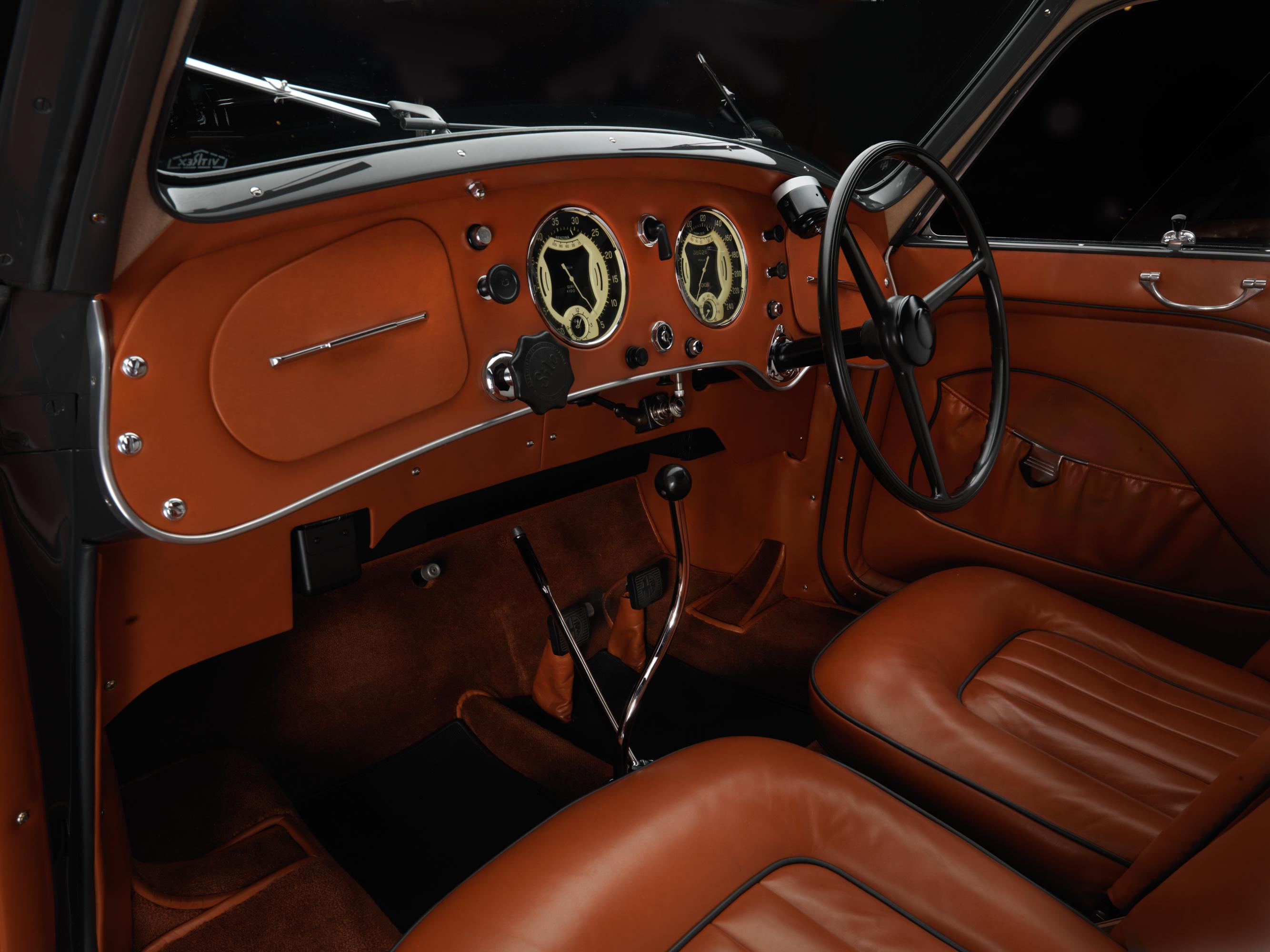 1937 Alfa Romeo 8c 2900 B Berlinetta Touring Studios Interior Lungo 1938 Photo