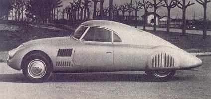 1937 Lancia Aprilia Aerodinamica (Pininfarina) - Studios