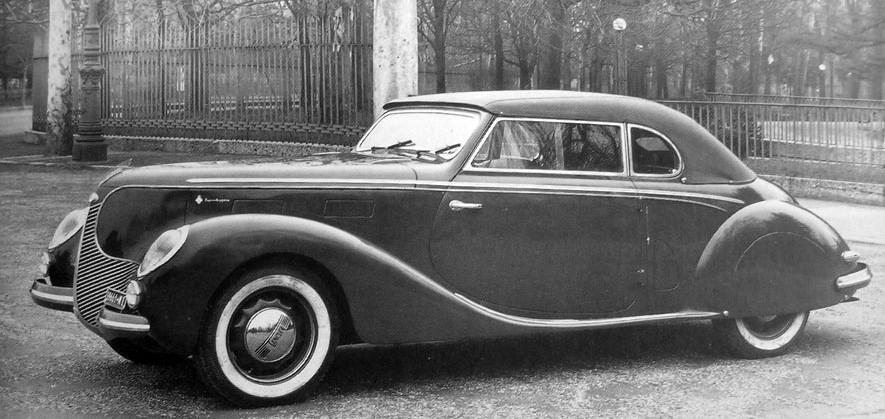 1938 Lancia Aprilia Cabriolet (Touring) - Studios
