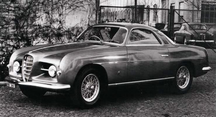 1953 Alfa Romeo 1900 Sprint Supergioiello Ghia Studios