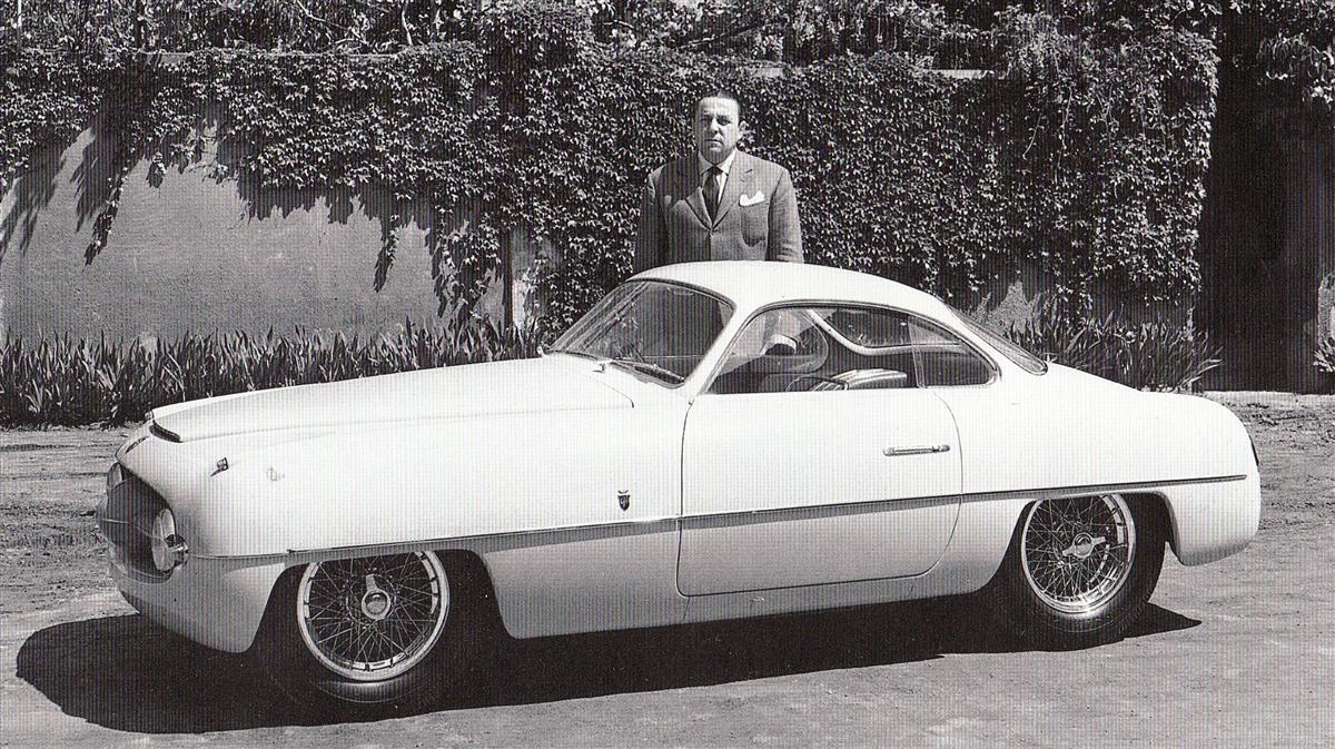 1953 Abarth Fiat 1100 Ghia Studios