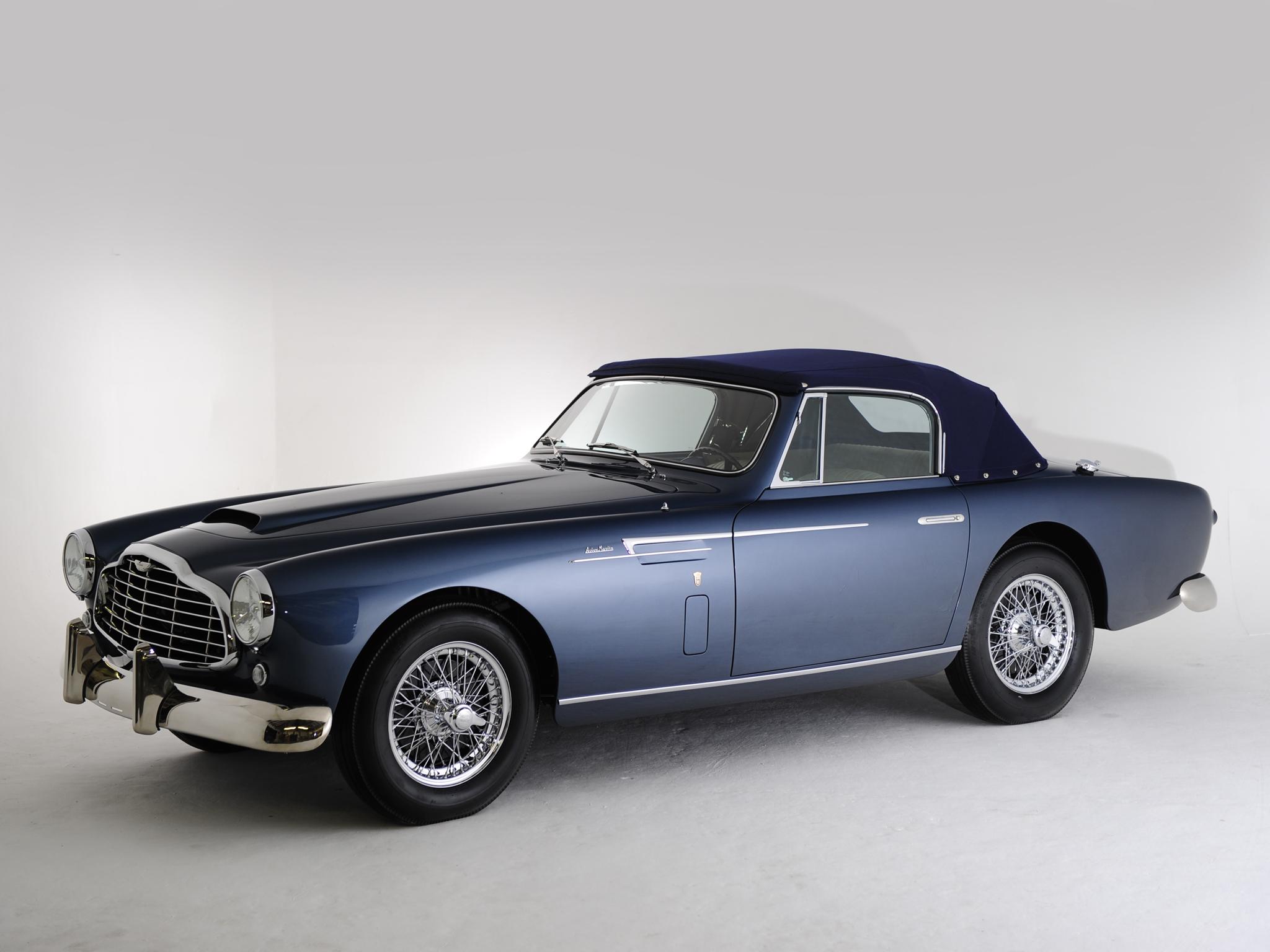 1953 Aston Martin Db2 4 Drophead Coupe Bertone Ateliers