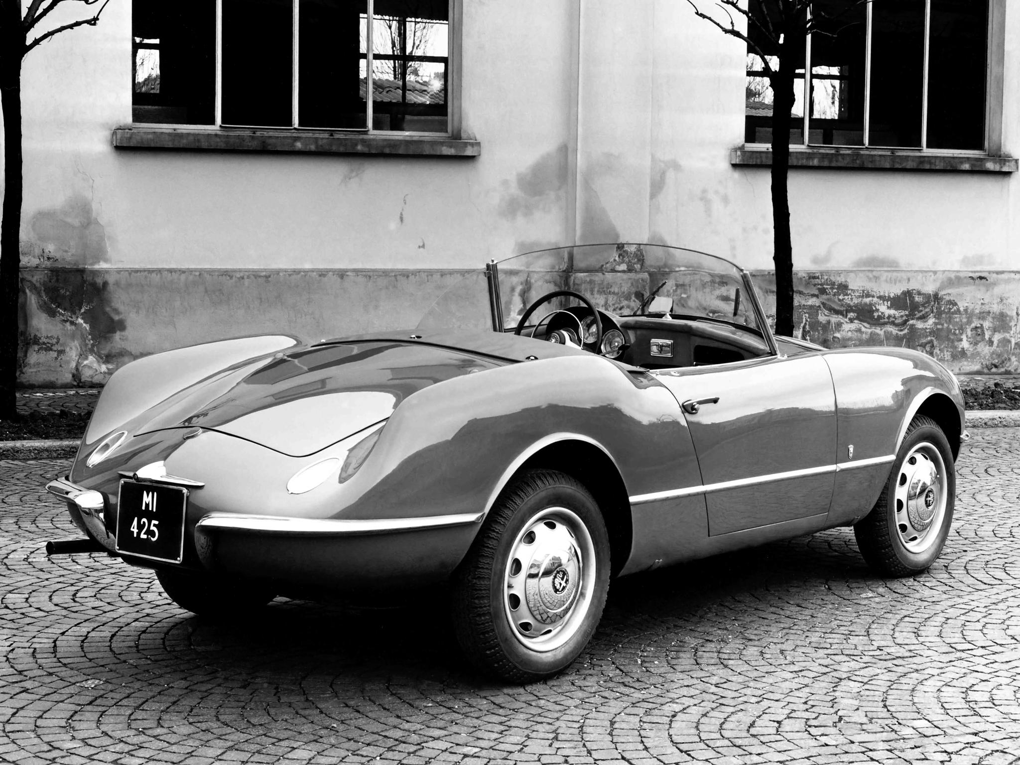 1955 Alfa Romeo Giulietta Spider (Bertone) - Студии
