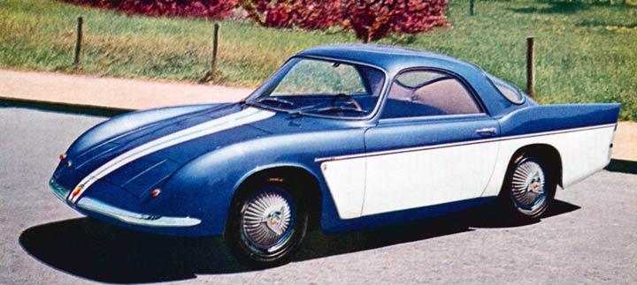 1956 Abarth 750 Bertone Studios