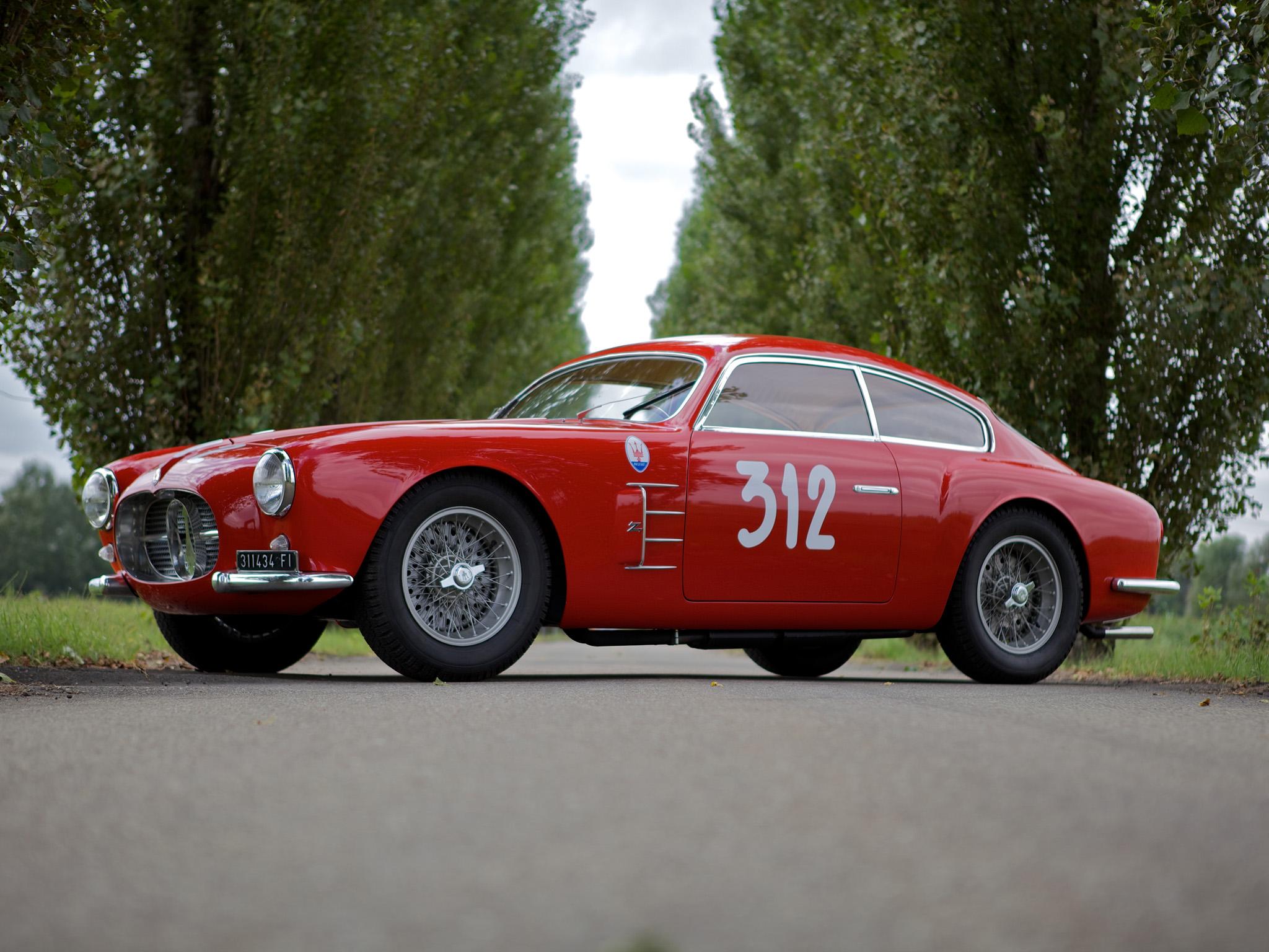 1954 Maserati A6g Zagato Studios
