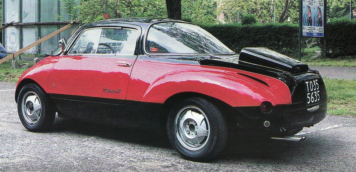 1957 Abarth 750 Coupe Goccia Vignale Studios