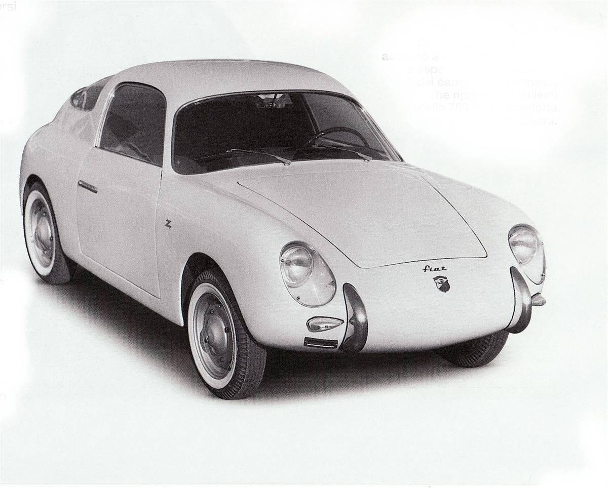 1957 Abarth Fiat 500 Gt Coupe Zagato Студии