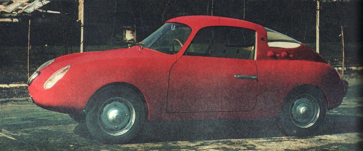 1957 Abarth Fiat 500 Gt Coupe Zagato Studios