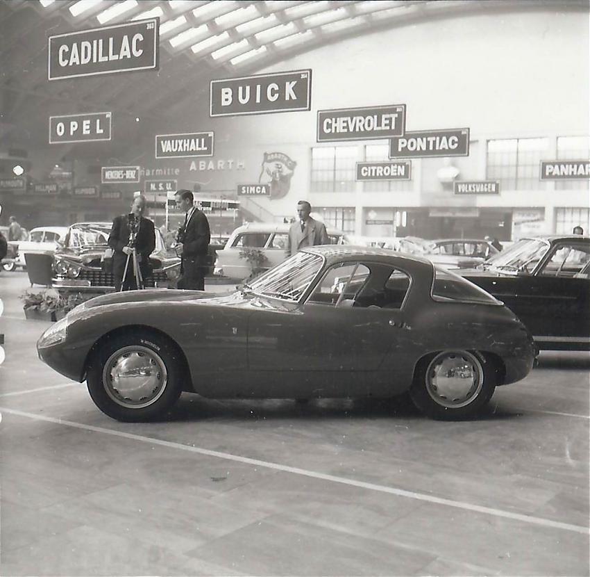 1958 Abarth Alfa Romeo 1000 (Bertone)