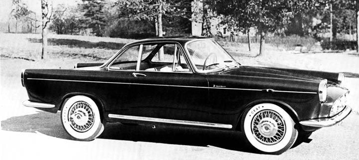 1958 Fiat 1100-1200 (Moretti) ...