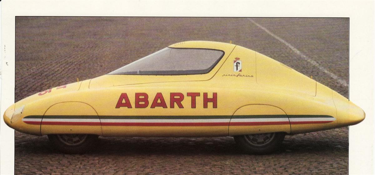 1960 Abarth Monoposto Da Record Pininfarina Studios